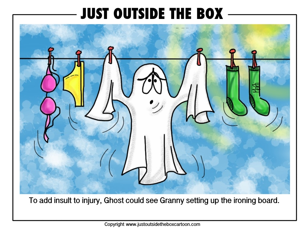 Wash Day  Just Outside the Box Cartoon