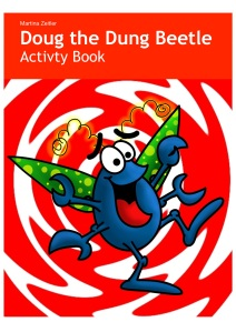 iBookstore front cover for Doug activity book