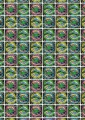 Free happy birthday alien wrapping paper