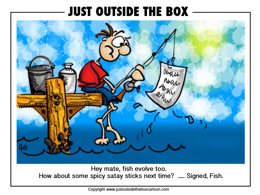 Funny cartoon fishing - photo#33