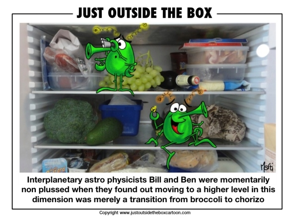 Bill and Ben and the fridge