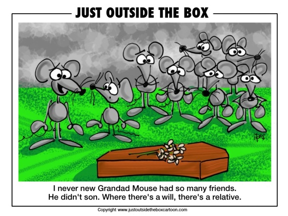 When mice go to a funeral