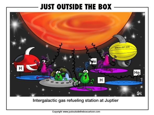 How aliens refuel in space