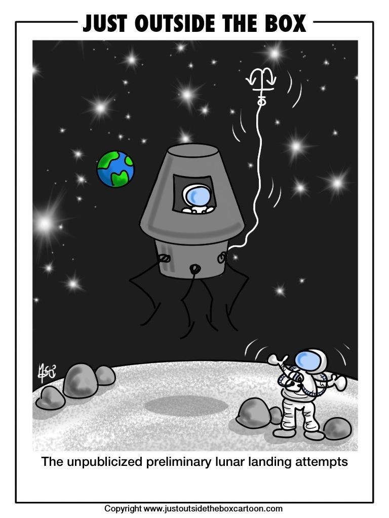 잃 ン Can't Believe Some People Still Think That Moon ...  |Moon Landing Funny