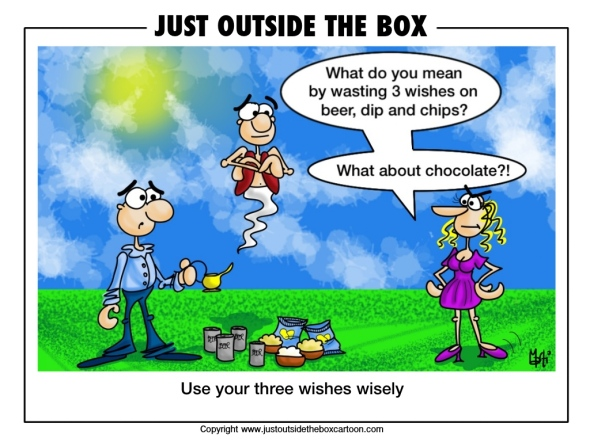 What would your three wishes be?