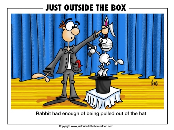 Rabbit in the hat has enough