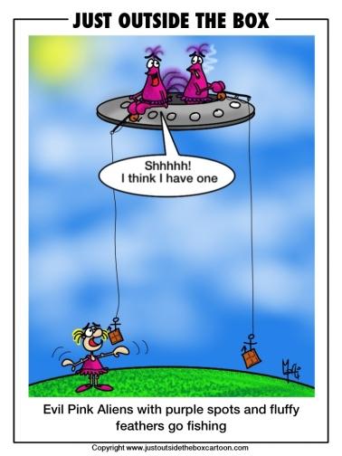 spaceship fishing