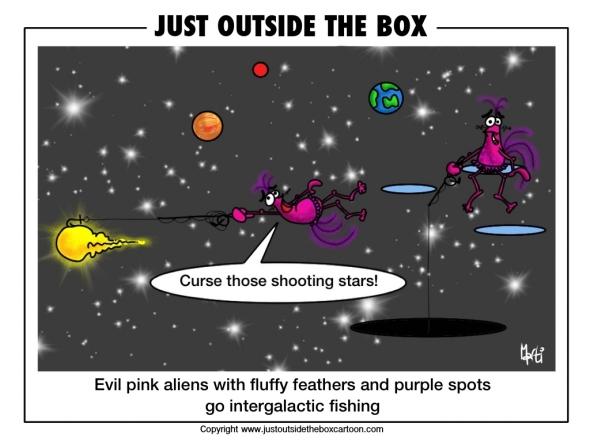 The hazards of shooting stars