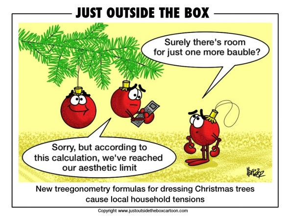 Baubles miss out on Christmas tree dressing