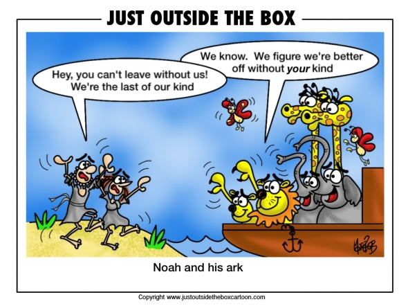 the animals on Noah's ark