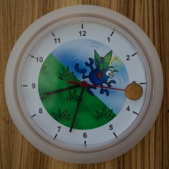 Doug dung Beetle wall clock photo