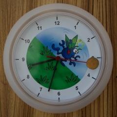 Doug dung Beetle wall clock photo