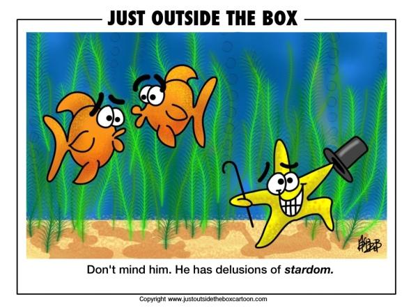 Underwater celebrities