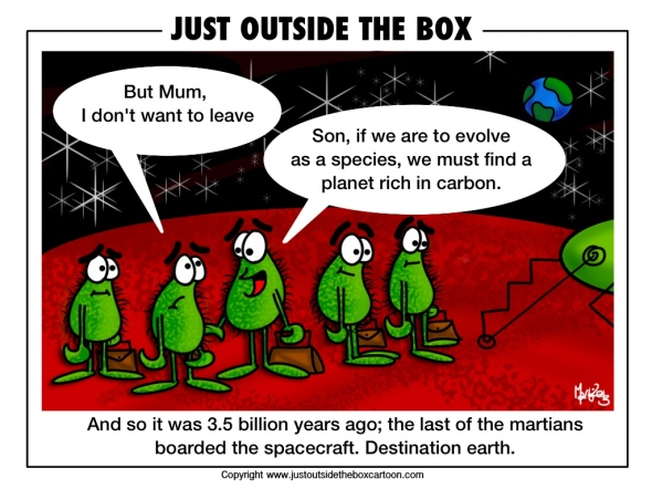 True history of Mars and martians