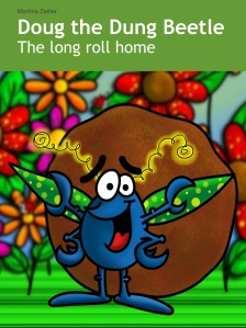 Doug the dung beetle's first book