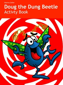 iPad free activity book about dung beetle
