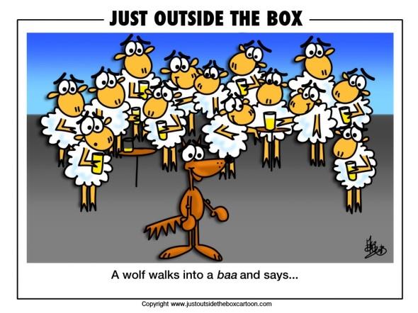 Sheep humour