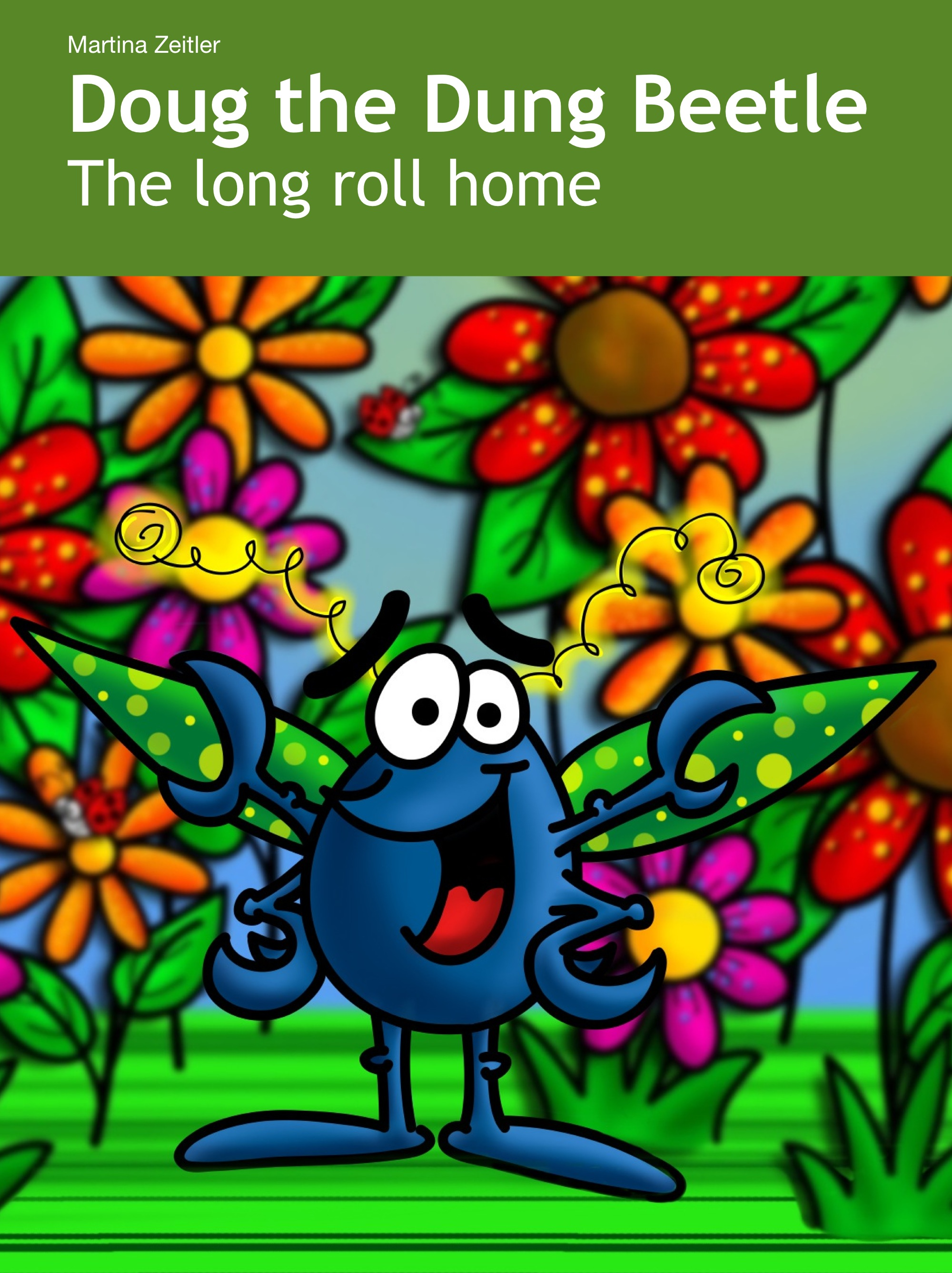 Doug the Dung Beetle: The long roll home