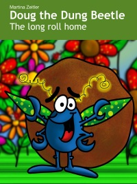 Kids book starring a dung beetle