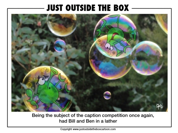 Bill and Ben in bubbles