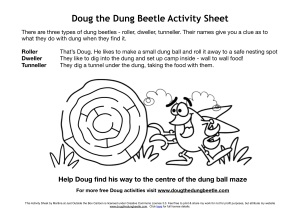 Doug colouring in