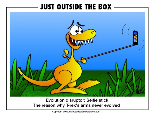 Why T-rex has short arms